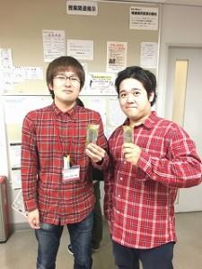 竹澤さん、駿介