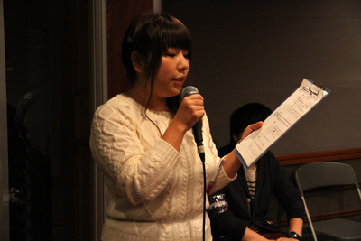 司会は本校卒業生・篠宮沙絵子さん
