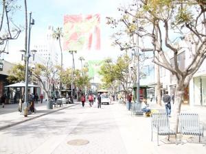 サンタモニカの買い物はサード・ストリート・プロムナードで