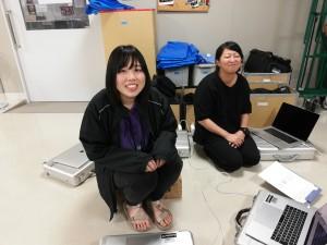 左:稲富さん 右:伊藤先生