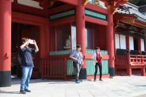写真⑨鶴岡八幡宮①