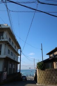 写真⑤-1稲村ケ崎の空
